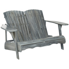 Buy Safavieh Hantom 58 Inch Bench in Ash Grey on sale online