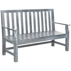 Buy Safavieh Indaka 60 Inch Bench in Ash Grey on sale online