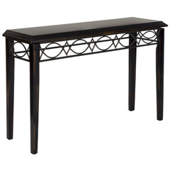 Buy Safavieh Jacquelyn 45x14 Console in Dark Brown on sale online