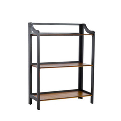 Buy Safavieh James 29 Inch Bookshelf in Black & Brown on sale online