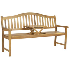Buy Safavieh Mischa 25 Inch Bench in Natural Brown on sale online