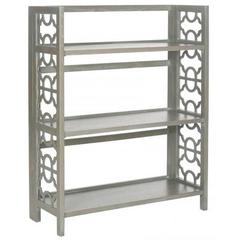 Buy Safavieh Natalie 43 Inch Low Bookcase in Ash Grey on sale online