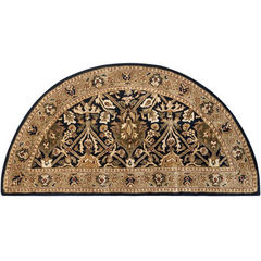 Buy Safavieh Persian Legend Traditional Half Moon Rug in Black, Beige - PL519C on sale online
