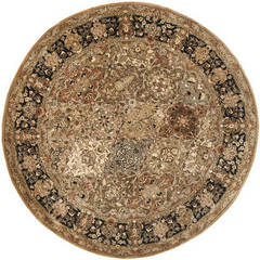 Buy Safavieh Persian Legend Traditional Round Rug in Green, Black - PL510A on sale online