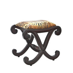 Buy Safavieh Roxie Stool in Cherry & Tiger on sale online