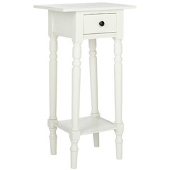 Buy Safavieh Sabrina 18x14 End Table in Distressed Cream on sale online