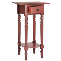Buy Safavieh Sabrina 18x14 End Table in Red on sale online
