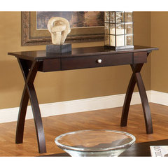 Buy Steve Silver Sao Paulo 48x18 Sofa Table in Rich Dark Cherry on sale online