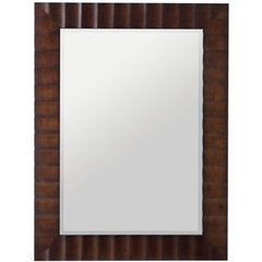 Buy Cooper Classics Savona 42x30 Rectangular Mirror in Washed Brown on sale online