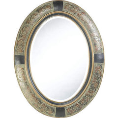 Buy Cooper Classics Sawyer 35x27 Mirror in Aged Brown on sale online
