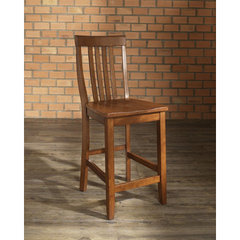 Buy Crosley Furniture School House 24 Inch Barstool in Classic Cherry on sale online