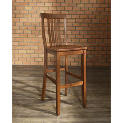 Buy Crosley Furniture School House 30 Inch Barstool in Classic Cherry on sale online