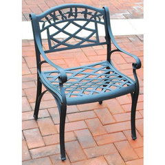 Buy Crosley Furniture Sedona Cast Aluminum Arm Chair in Charcoal Black (Set of 2) on sale online