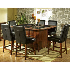 Redecorate Your Dining Decor with the Steve Silver Serena Granite 7-piece Counter Height Set!