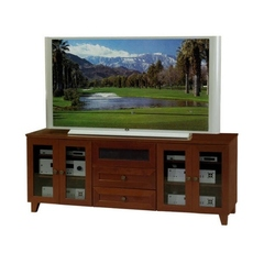 Buy Furnitech Shaker 70 inch Media Console in Dark Cherry on sale online