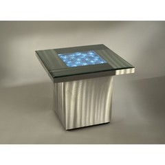 Buy NOVA Lighting Shattered 24x24 Square End Table w/ Light on sale online