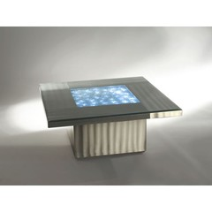 Buy NOVA Lighting Shattered 36 Inch Square Cocktail Table w/ Light on sale online