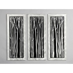 Buy NOVA Lighting Silver Birch Wall Graphic (Set of 3) on sale online