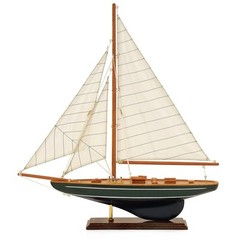 Buy IMAX Worldwide Small Sailboat on Stand w/ Canvas Sails on sale online