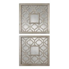 Buy Uttermost Sorbolo 20x20 Squares Wall Mirror (Set of 2) on sale online
