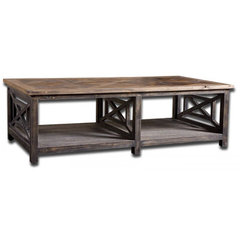 Buy Uttermost Spiro Cocktail Table 56x17 Cocktail Table on sale online