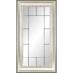 Buy Stately Aged Silver 35x65 Mirror  on sale online