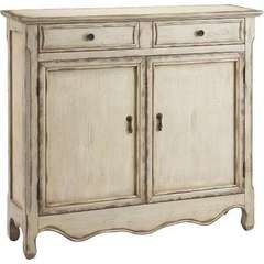 Buy Stein World  Heidi Cupboard w/ 2 Drawers in Vintage Cream on sale online