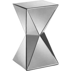 Buy Stein World Artessa 13 Inch Square Mirrored Accent Table on sale online
