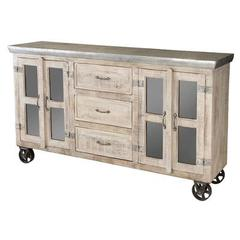 Buy Stein World Bertram Sideboard w/ 3 Drawers in Reclaimed Wood on sale online