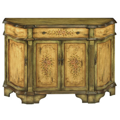Buy Stein World Dover Credenza in Antique Green and Brown on sale online