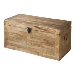 Buy Stein World Jace Traditional Storage Trunk in Reclaimed on sale online