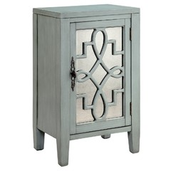 Buy Stein World Leighton Accent Cabinet in Blue-Gray on sale online