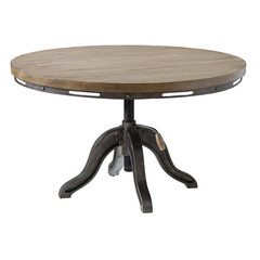 Buy Stein World Mechanica 38 Inch Round Wood and Metal Cocktail Table on sale online