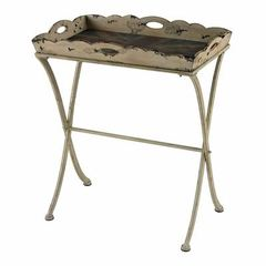 Buy Sterling Industries 25x16 Rectangular Tray Table w/ Antique Union Jack Print on sale online