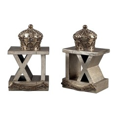 Buy Sterling Industries 3Rd Cavalry Bombay Bookends in Antique Silver (Set of 2) on sale online