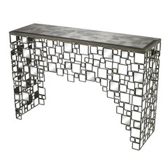 Buy Sterling Industries Alvis 46x14 Rectangular Transitional Console Table on sale online