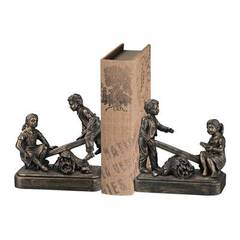 Buy Sterling Industries Bookends in Black and Bronze (Set of 2) on sale online