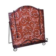 Buy Sterling Industries Embossed Vine Bookholder in Red and Black on sale online