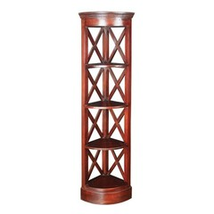 Buy Sterling Industries Galloway Transitional Corner Shelves in Mahogany on sale online