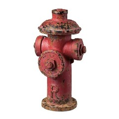 Buy Sterling Industries Industrial Fire Hydrant Decor in Antique Red on sale online