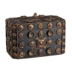 Buy Sterling Industries Luneburg Decorative Box in Antique Black and Bronze on sale online