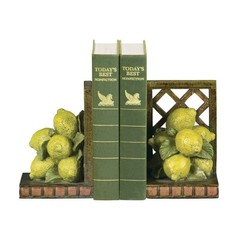 Buy Sterling Industries Pair Lemon Orchard Bookends in Antique Yellow (Set of 2) on sale online