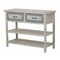 Buy Sterling Industries Sandall 43x18 Rectangular Sideboard w/ Drawers and Shelf on sale online