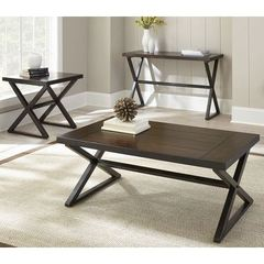 Buy Steve Silver 3 Piece 48x28 Rectangular OmahaOccasional Table Set on sale online