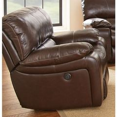 Buy Steve Silver 40 Inch Brenton Recliner Chair in Brown on sale online