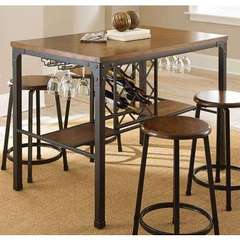 Buy Steve Silver 48x30 Rectangular Rebecca Counter Table in Brown on sale online