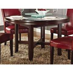 Buy Steve Silver 52x52 Round Hartford Dining Table in Oak on sale online
