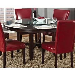 Buy Steve Silver 62x62 Round Hartford Dining Table in Oak on sale online
