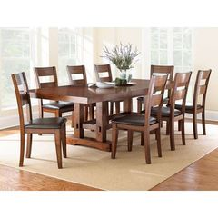 Buy Steve Silver 9 Piece 108x42 Rectangular Zappa Dining Room Set on sale online