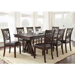 Buy Steve Silver Adrian 9 Piece 78x42 Rectangular Dining Room Set on sale online